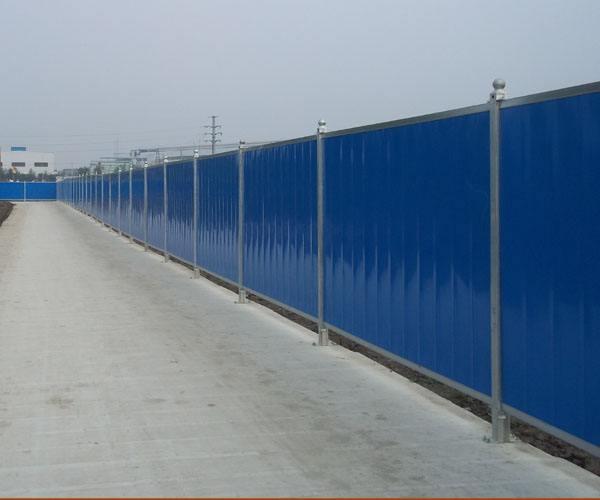 建筑施工装配式围挡作用特点