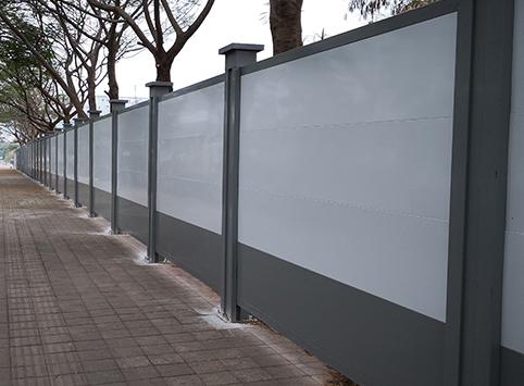 鑫森广源告诉你彩钢围挡板的用处