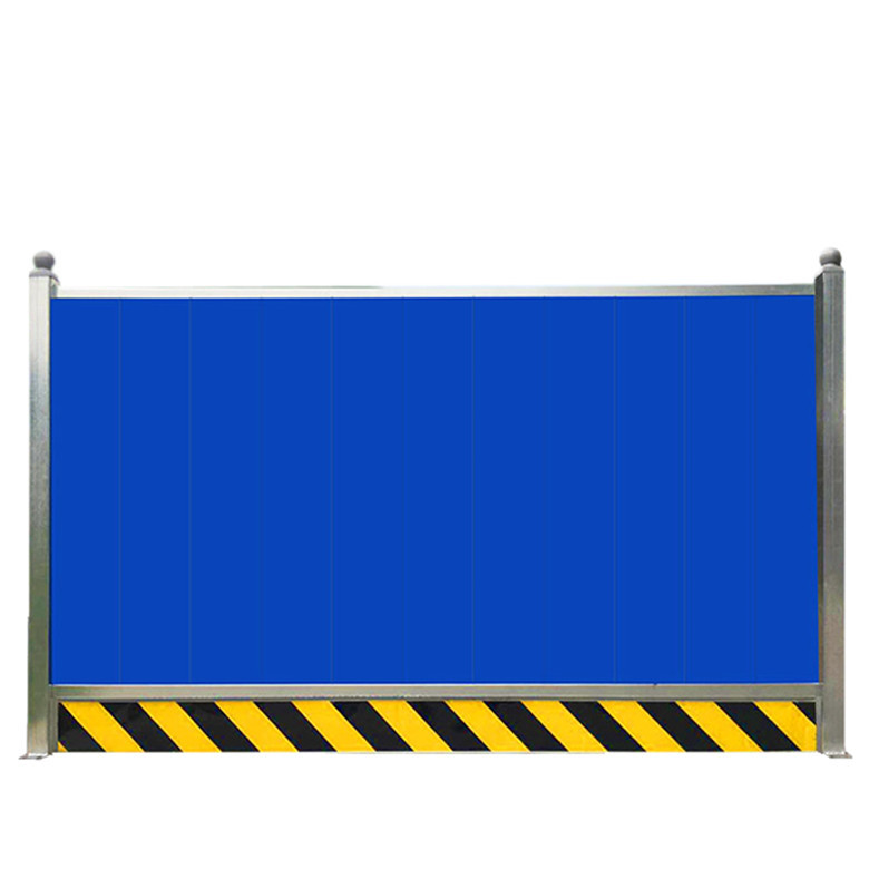 新型蓝色复合材料PVC围挡